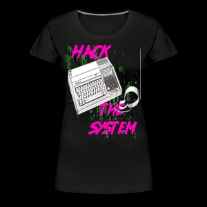 hack the system - Women's Premium T-Shirt