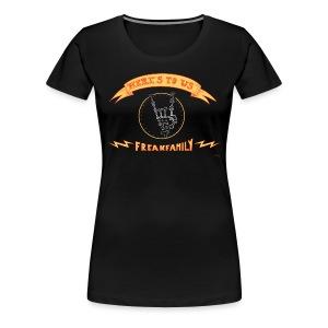 Here's to us Version #2 - Women's Premium T-Shirt