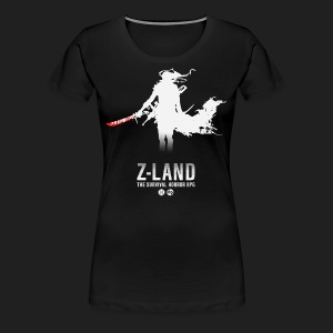 Z-LAND Survivor - Women's Premium T-Shirt
