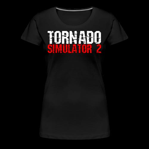 Tornado Simulator 2 T-Shirt - Women's Premium T-Shirt