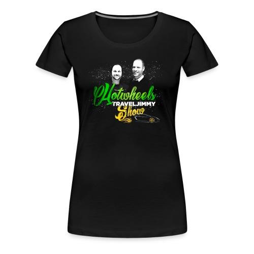 Hotwheels Traveljimmy Show Merchandising - Women's Premium T-Shirt