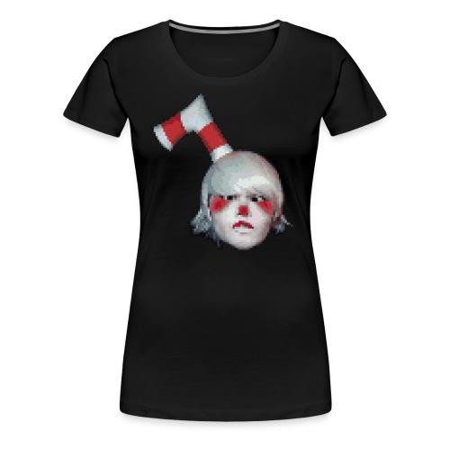 pixel cuphead masons cosplay - Women's Premium T-Shirt