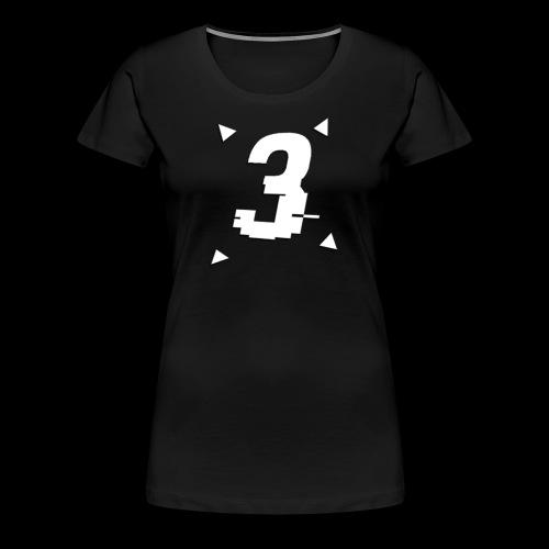 3 Triangle Logo - Women's Premium T-Shirt