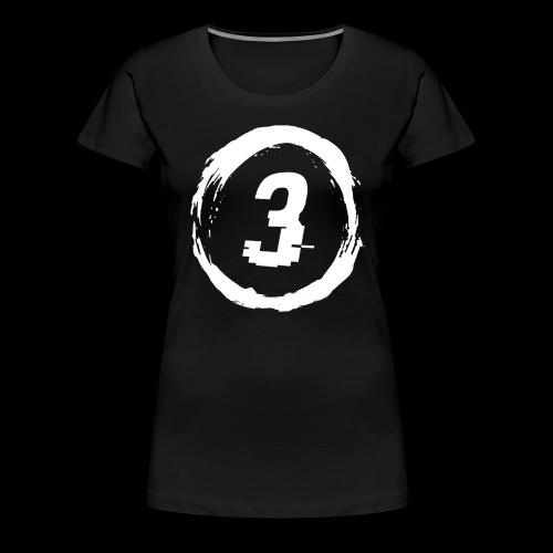 3 Circle Logo - Women's Premium T-Shirt