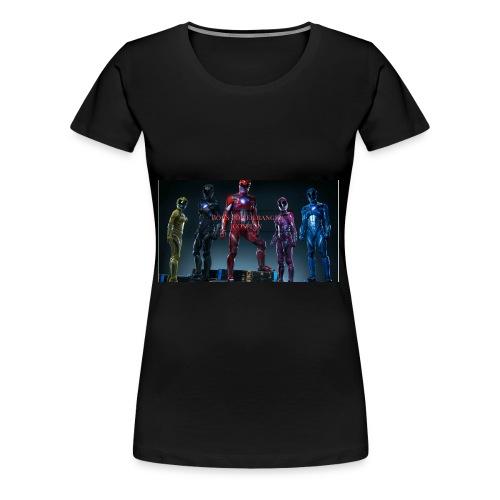 Boiis power ranger cosplay - Women's Premium T-Shirt