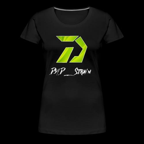 D34D_Stra1n Logo - Women's Premium T-Shirt