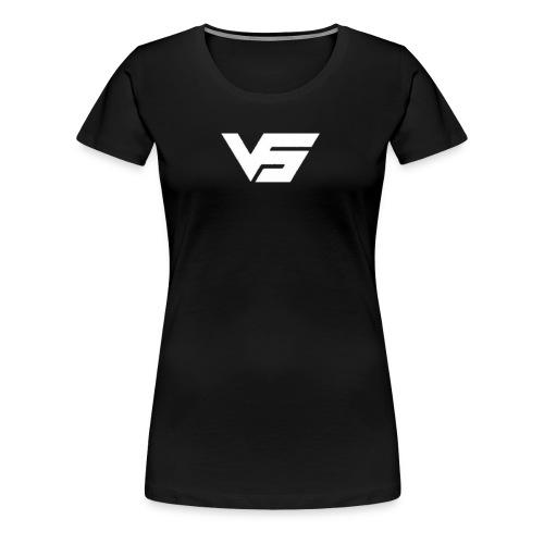 White First Vast Logo - Women's Premium T-Shirt
