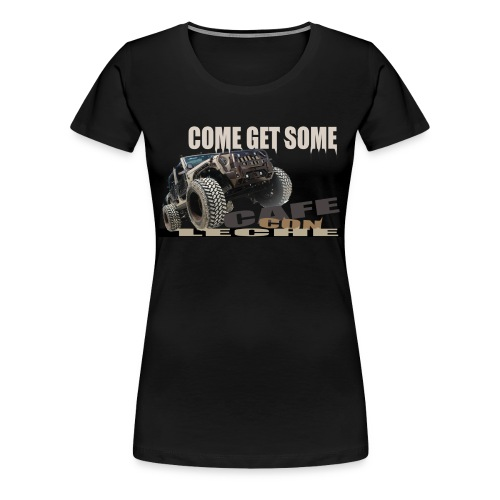 Cafe Con Leche - Women's Premium T-Shirt