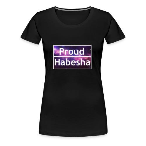 Proud Habesha - Women's Premium T-Shirt