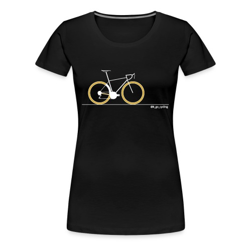 Go Cycling (wht) - Women's Premium T-Shirt