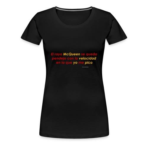Velocidad de tu arrechera. - Women's Premium T-Shirt