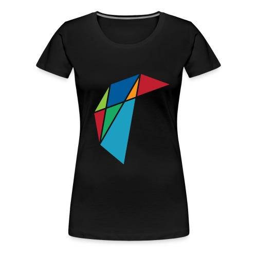 GLARE Logo - Women's Premium T-Shirt