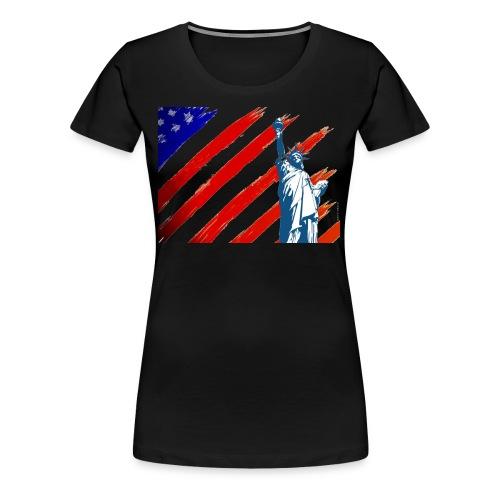 American Liberty - Women's Premium T-Shirt