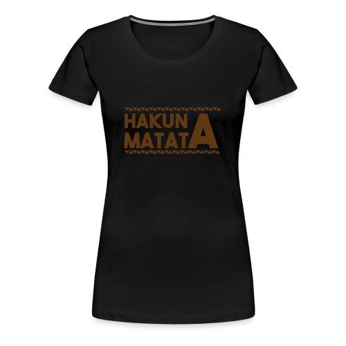 Matata 1 - Women's Premium T-Shirt