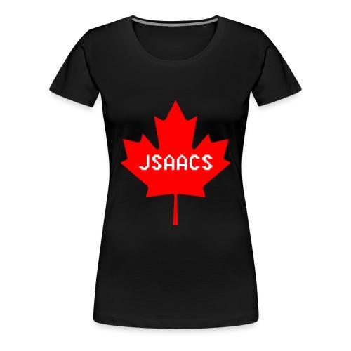 Canada Flag Jsaacs - Women's Premium T-Shirt