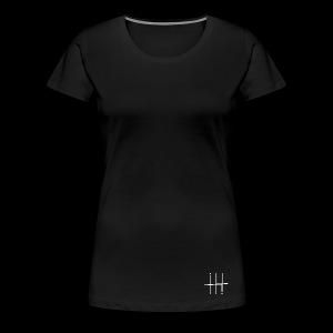 WHITE HEESH Symbol - Women's Premium T-Shirt