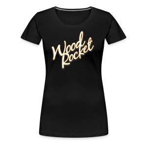 WoodRocket Classic - Women's Premium T-Shirt