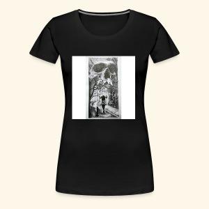 HAUNTED - Women's Premium T-Shirt