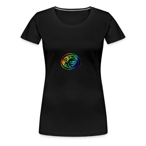 DRAGON EMBLEM PNG - Women's Premium T-Shirt