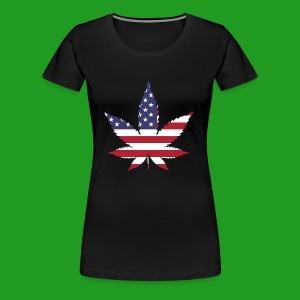 American Leaf - Women's Premium T-Shirt