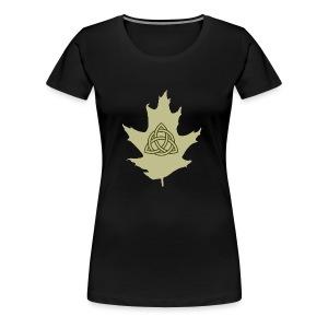 Celtic Druidry Triquetra - Women's Premium T-Shirt