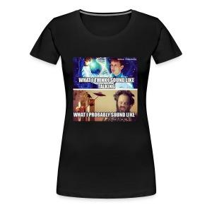 CONSPIRACY THEORISTS - Women's Premium T-Shirt