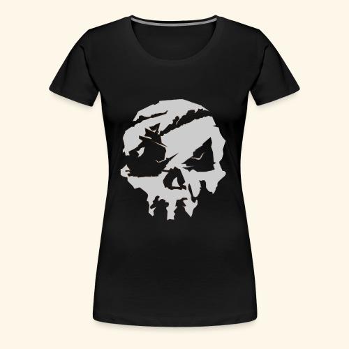 Sea of Thieves Inspired Skull - Women's Premium T-Shirt