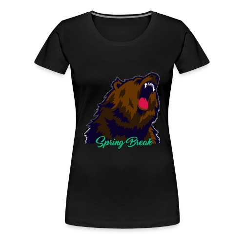 Spring Bear - Women's Premium T-Shirt