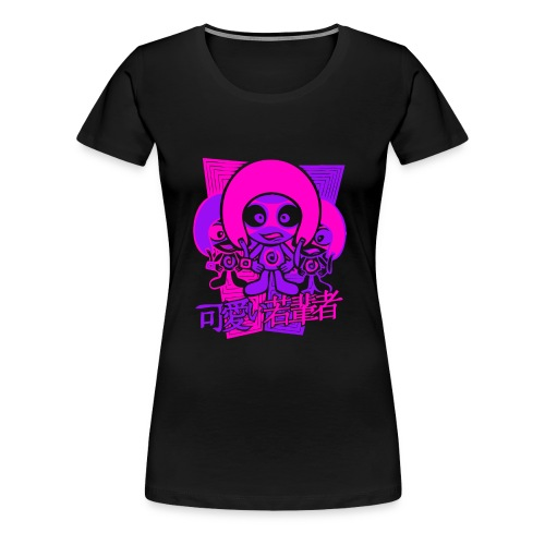 Daredevil Mascot - Women's Premium T-Shirt