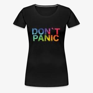 Birthday T-Shirt - Don´t Panic! - Women's Premium T-Shirt