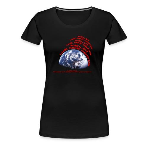 Help we are idiots - Women's Premium T-Shirt