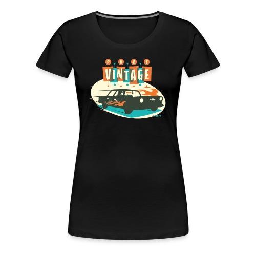Vintage car - Women's Premium T-Shirt