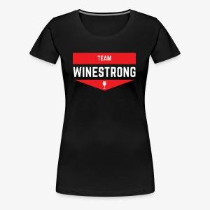 WineStrong Logo - Women's Premium T-Shirt