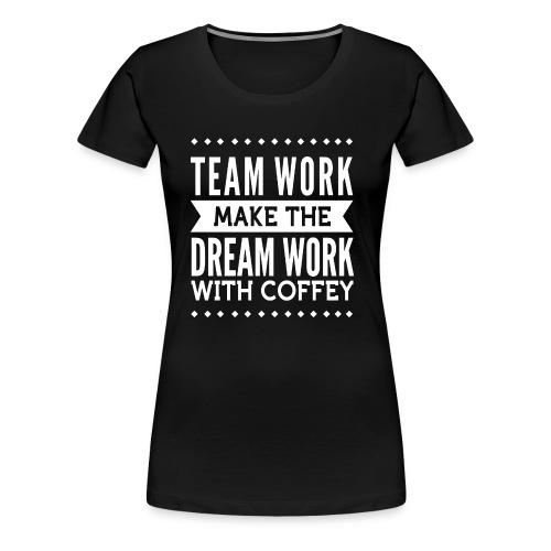 coffey - Women's Premium T-Shirt