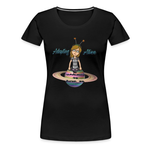 Adapting Alien 200 subscribers Limited time - Women's Premium T-Shirt
