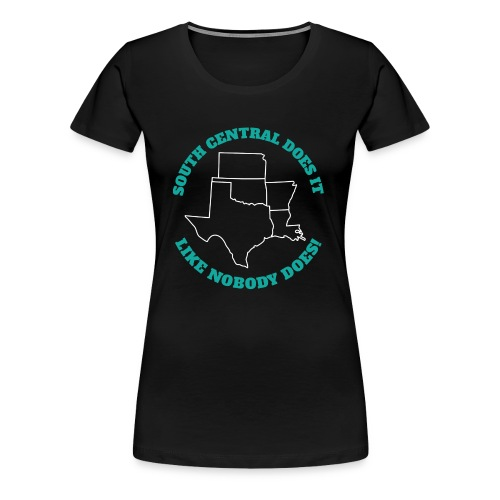 South Central 5 states - Women's Premium T-Shirt