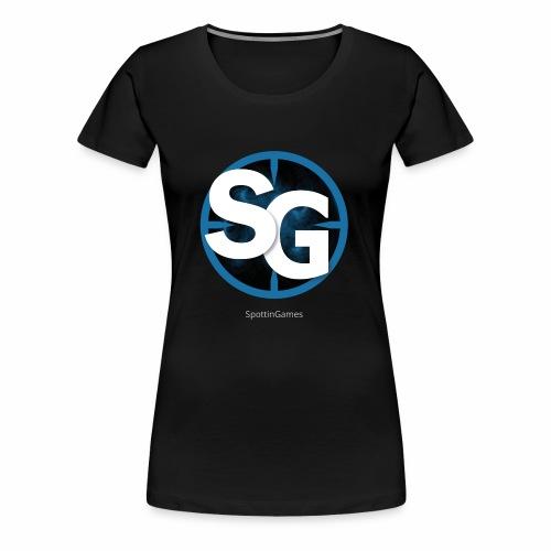 SpottinGames logo - Women's Premium T-Shirt