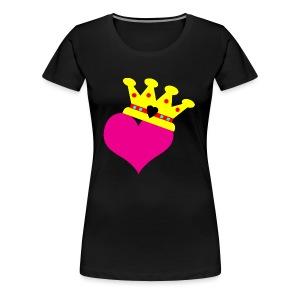 Lil Diamond's Fit for a Queen merch - Women's Premium T-Shirt