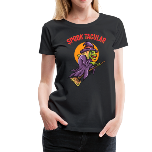 Spooktacular Witch - Women's Premium T-Shirt