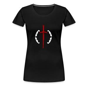 Faction Sword Logo V1 - Women's Premium T-Shirt