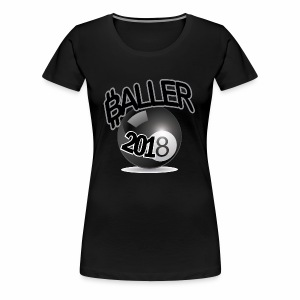 Only Ballers Can Wear This - Women's Premium T-Shirt