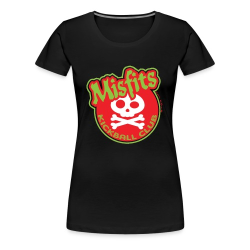 Misfits New Logo - Women's Premium T-Shirt