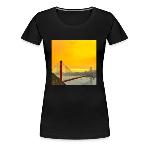 Golden Gate - Women's Premium T-Shirt