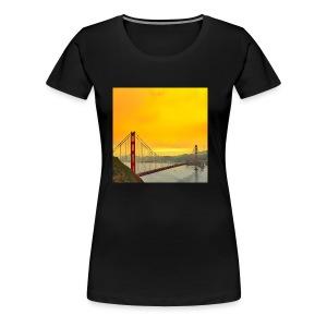 Golden Gate - Women's Premium T-Shirt