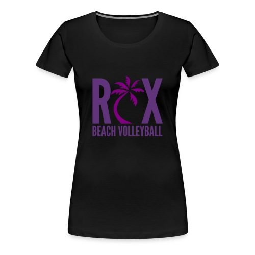 RIX Beach Volleyball - Women's Premium T-Shirt