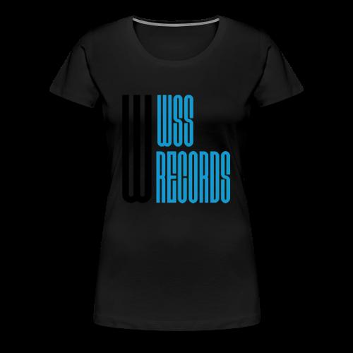 WSS Records - Women's Premium T-Shirt