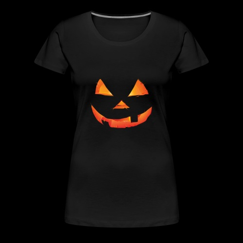 The Scary Pumpkin Halloween T shirt - Women's Premium T-Shirt