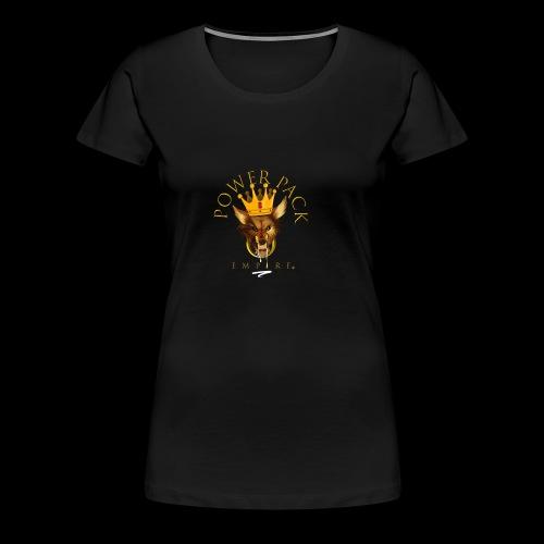 Power Pack Empire Official Logo - Women's Premium T-Shirt