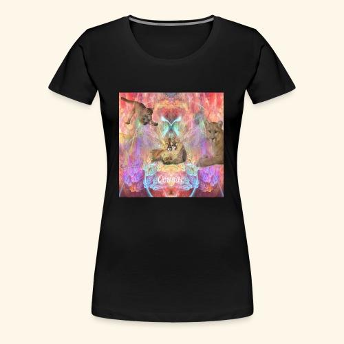 3 CougarMoon - Women's Premium T-Shirt