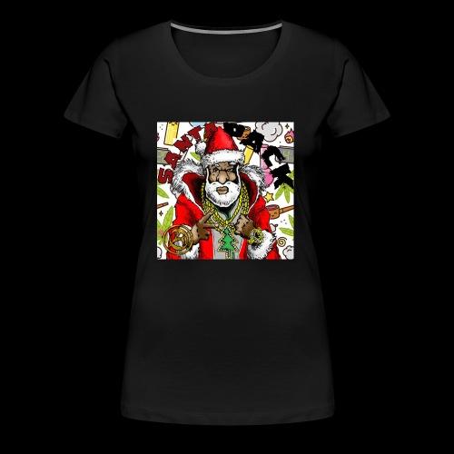 Santa Pack (Christmas Hip-Hop Gear) - Women's Premium T-Shirt